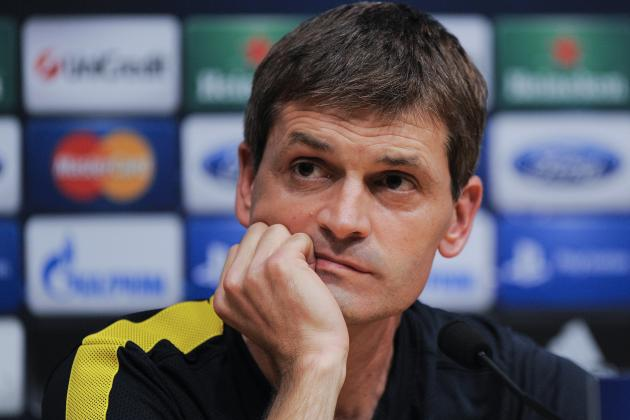 Barca's Vilanova Vows Not to Flinch from Tiki-Taka
