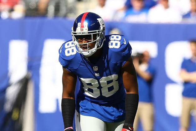 Hakeem Nicks Says His Knee Is Fine and Stats Are for Girls
