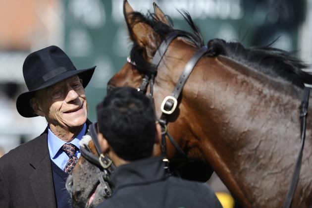 Cecil Says Goodbye to Superstar Frankel