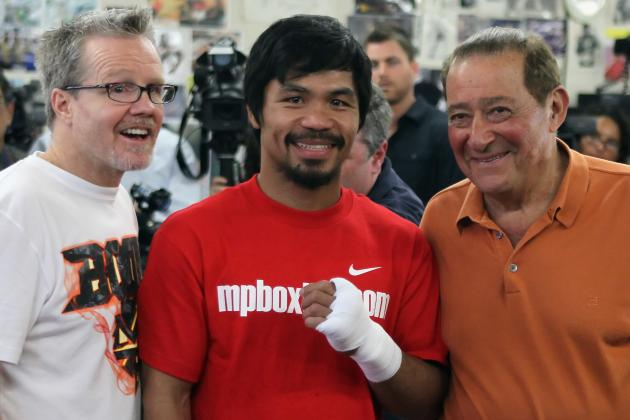 Arum Hopes Pacquiao Regains Old Fire for Marquez