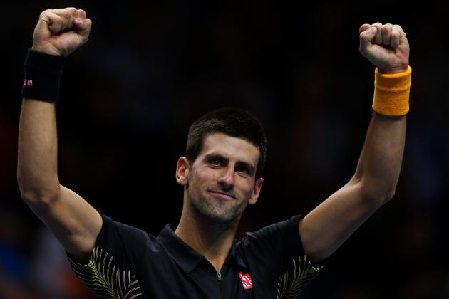 Djokovic Defeats Berdych to Qualify for Semifinals in London