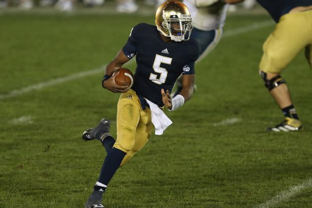 Notre Dame Football: Breaking Down Irish's Keys to Success vs. Boston College