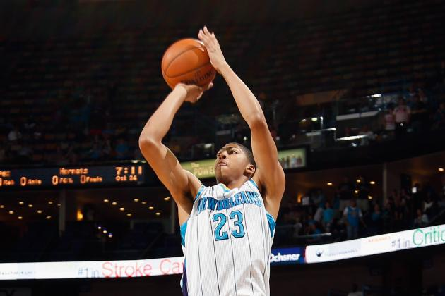 Anthony Davis, Austin Rivers Will Start Friday Night vs. Charlotte Bobcats
