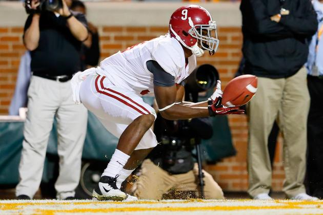 Saban 'Optimistic' That Lacy, Cooper Will Be Ready for Saturday's Game