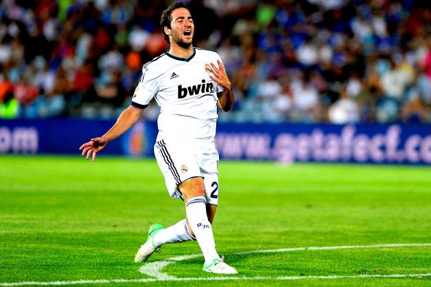 Gonzalo Higuain Injury: Updates on Real Madrid Star's Thigh
