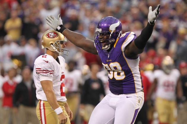 Minnesota Vikings: Letroy Guion Iffy with Turf Toe