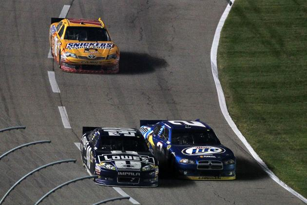Sprint Cup Race Heating Up Between Johnson and Keselowski