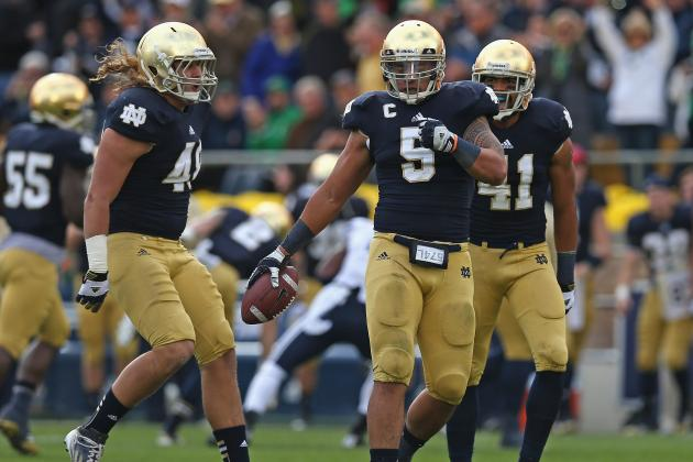 Notre Dame: Manti Te''o, Dan Fox Thrive in Hostile Environments