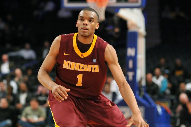 Gophers Guard Andre Hollins Wants Big Wins to Go with Big Grins