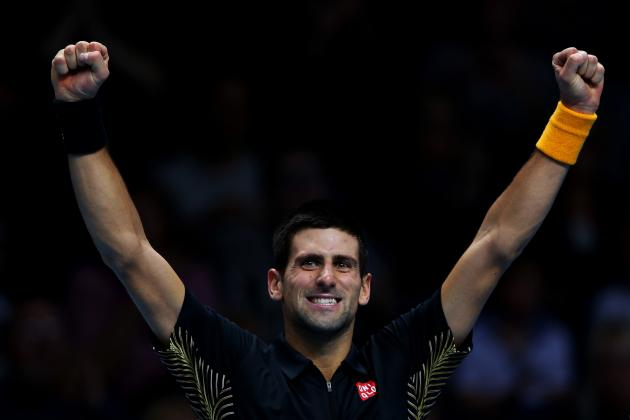 Novak Djokovic Defeats Tomas Berdych at 2012 ATP World Tour Finals