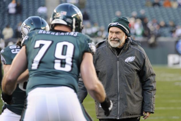 Problems Can Be Fixed, Says Eagles O-Line Coach Howard Mudd