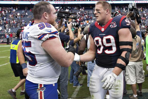 J.J. Watt Easily Wins Sporting News Midseason Award