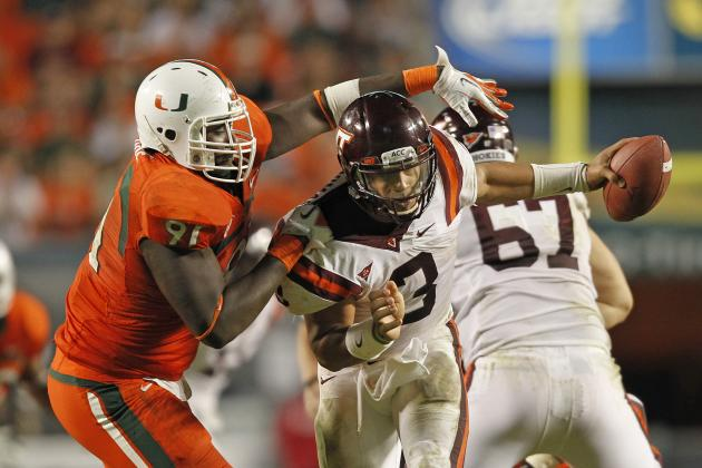 University of Miami's Beleaguered Defense Shows Signs Of...