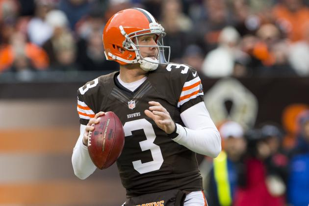 Brandon Weeden's Fate to Be Sealed at End of Season and More AFC North News