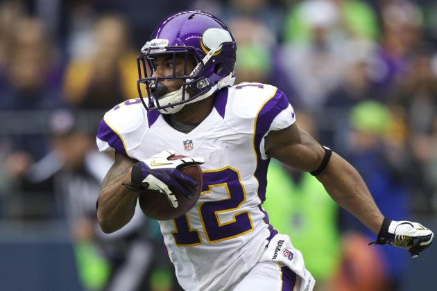 Vikings List Percy Harvin as Doubtful, May Work Him out Before Game