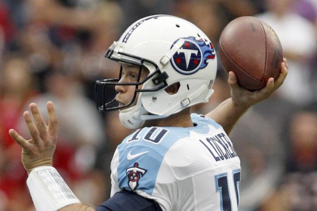 QB Jake Locker Ready to Go for Titans