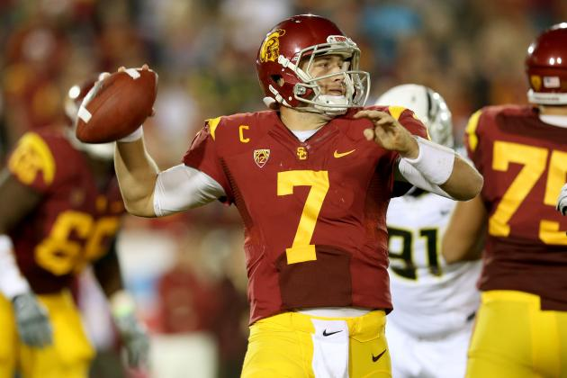 USC QB Matt Barkley: Did He Know About Deflated Balls?