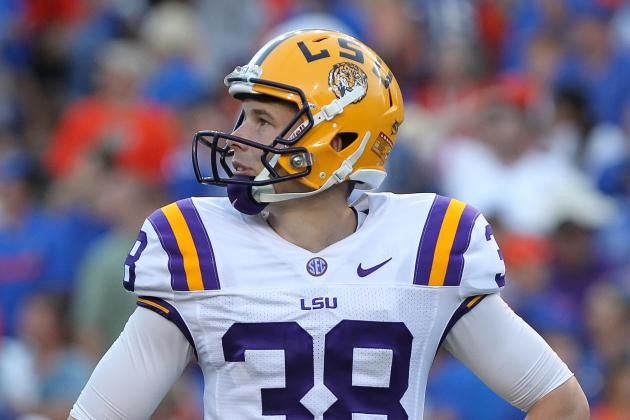 LSU Punter Brad Wing Semifinalist for Ray Guy Award