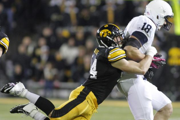Three Hawkeye Football Players Earn Academic Honors