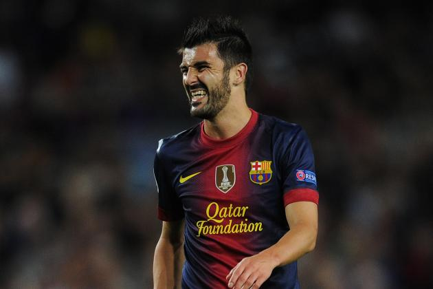 Chelsea Watch with Interest as David Villa Edges Towards Barcelona Exit