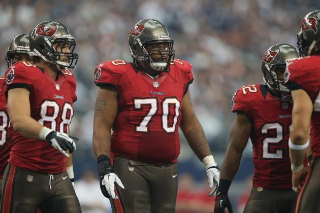 Bucs' Unheralded O-Line Keeps Offense Moving