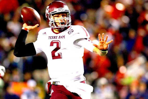 How Texas A&M's Johnny Manziel Compares to Braxton Miller and Collin Klein