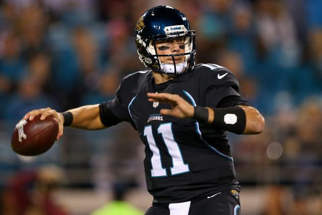 Jaguars Coach Mularkey Is Sticking with Blaine Gabbert If He's Healthy