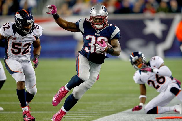 Patriots RB Brandon Bolden Suspended 4 Games by NFL for PED Use