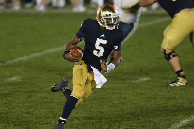 Notre Dame Football: Improvements Irish Must Show Against Boston College