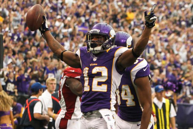 Percy Harvin: Remaining Fantasy Football Outlook for Ailing Vikings WR