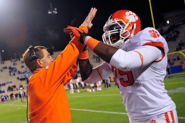 Clemson Embracing Home-Field Advantage