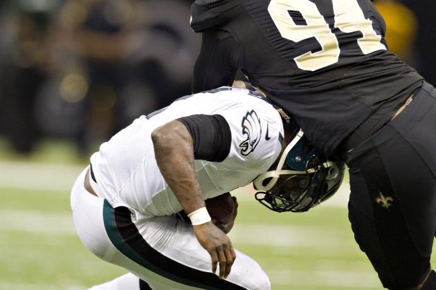 Michael Vick Fined for Low Block After Throwing Pick Six