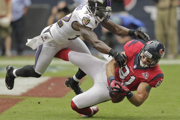 Owen Daniels: Texans Star TE Is a Fantasy Must-Sit for Sunday Night vs. Bears