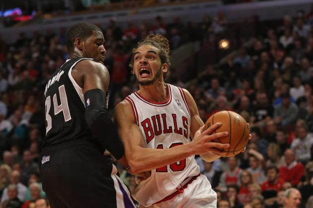 Bulls' Noah Regrets 3-Point Shot for Big Macs