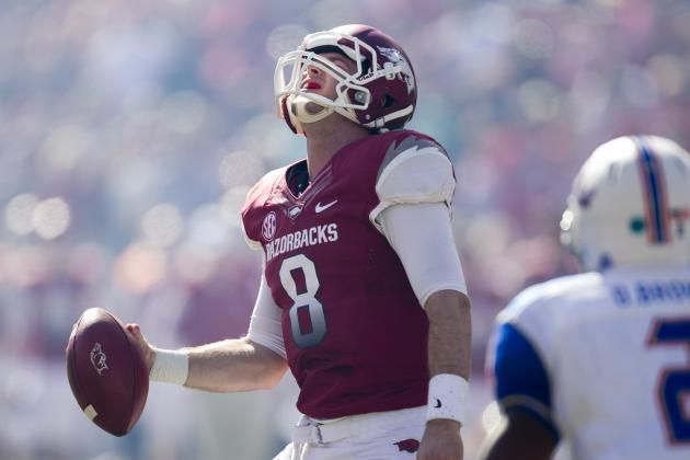 SEC's Best Await Hogs' Bruised QB