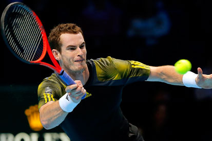 Andy Murray Sweeps Aside Jo-Wilfried Tsonga in World Tour Finals