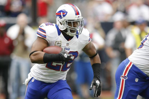2012 PPR Fantasy Football Week 10: Running Backs (RB) Rankings / Projections