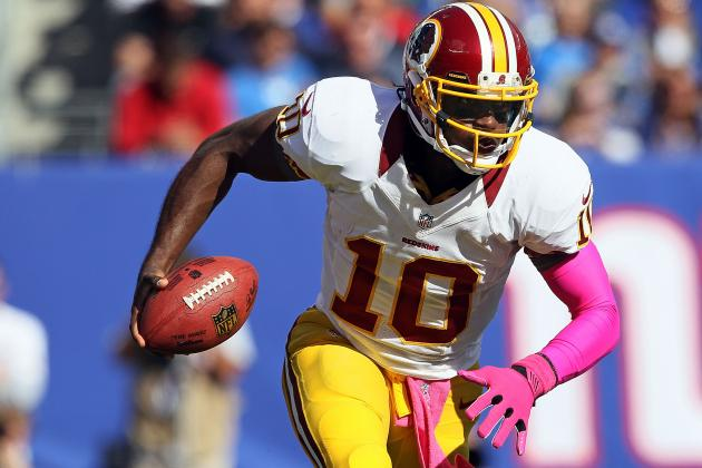 Comparing RG3's Running Style to Top NFL RBs