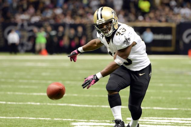 Atlanta Falcons Chances for a Win This Week Helped with RB Darren Sproles Out