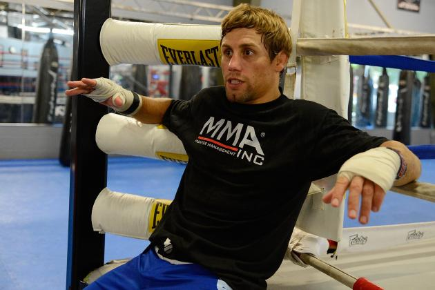 Urijah Faber Plans to Return to the Octagon at UFC 156