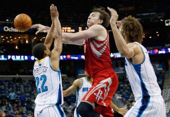 Asik is hustling tonight, already with 11 rebounds.