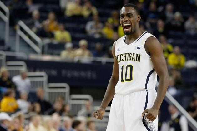 No. 5 Michigan 100, Slippery Rock 62