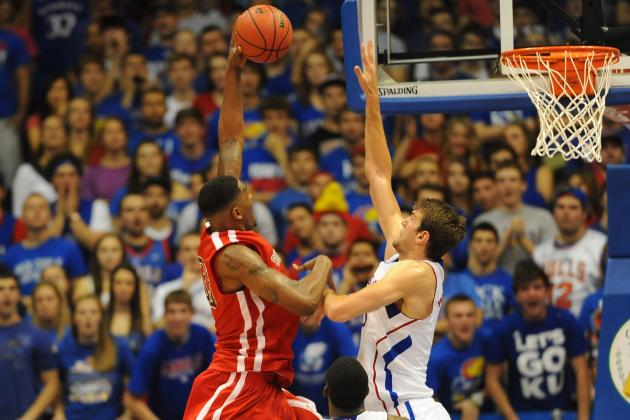 Kansas Jayhawks: Jeff Withey Steps Up; Perry Ellis Dominates in Season Opener