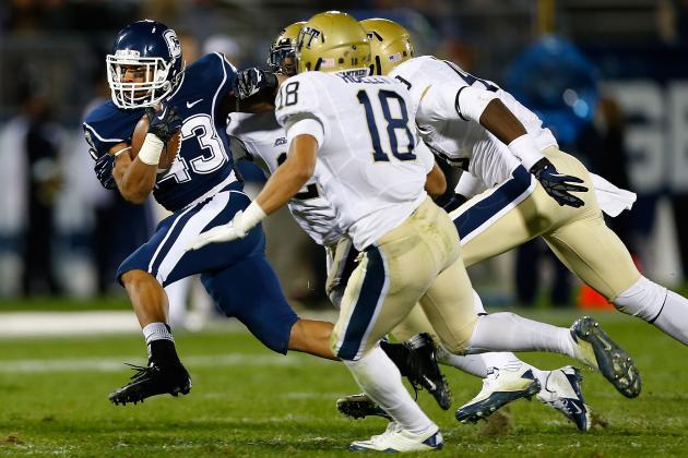 UConn Surprises Pitt 24-17