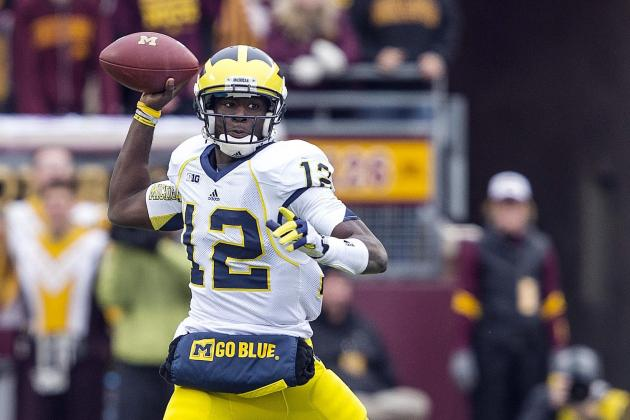 Gardner Returns to QB Role Offering Wolverines a Whole New Set of Options