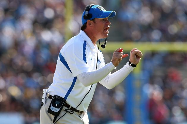 Jim Mora, UCLA Headed in the Right Direction
