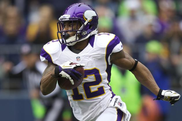 Percy Harvin Injury: Top Fantasy Replacements for Star Vikings WR