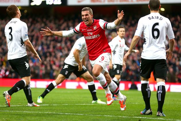 Arsenal vs. Fulham: Pulsating 3-3 Draw as It Happened