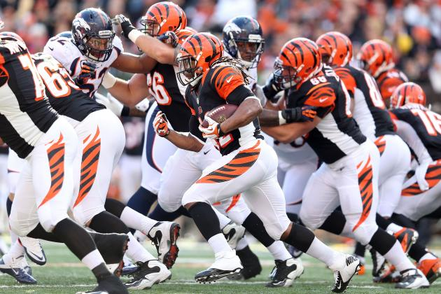 Giants vs. Bengals: Will Cincinnati Run the Ball Effectively Against New York?