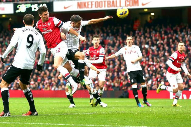 Arsenal vs. Fulham: Score, Analysis and Grades
